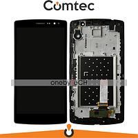 Дисплей для LG H734 G4s Dual Sim/H735/H736 с тачскрином (Модуль) черный, с передней панелью (рамкой), оригинал
