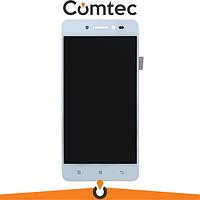 Дисплей для Lenovo S90 Sisley с тачскрином (Модуль) белый, Amoled, оригинал