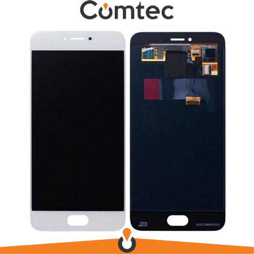 Дисплей для Meizu Pro 6 (M570H)  /Pro 6s с тачскрином (Модуль) белый, Amoled, оригинал