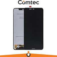 Дисплей для Nokia 5.1 Plus/ X5 (2018) с тачскрином (Модуль) черный