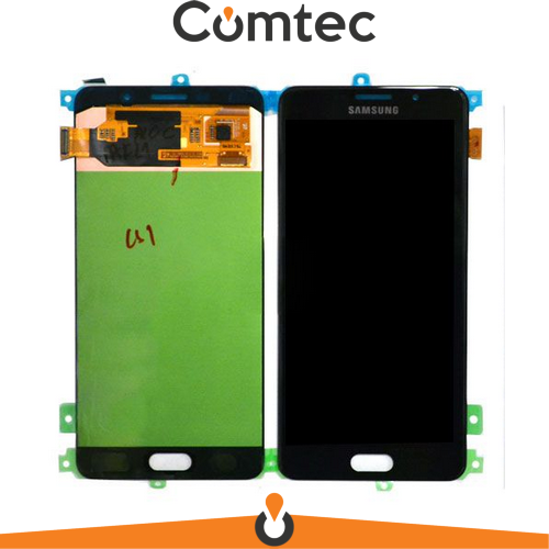 Дисплей для Samsung A710F Galaxy A7 (2016) с тачскрином (Модуль) черный,  TFT, без регулировки яркости