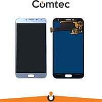 Дисплей для Samsung J400F Galaxy J4 (2018) с тачскрином (Модуль) голубой, Lavenda, OLED