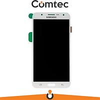 Дисплей для Samsung J700H Galaxy J7 (2015) с тачскрином (Модуль) белый,  TFT, без регулировки яркости