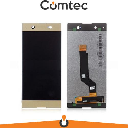 Дисплей для Sony G3212 Xperia XA1 Ultra Dual/G3221/G3223/G3226 с тачскрином (Модуль) золотистый, оригинал
