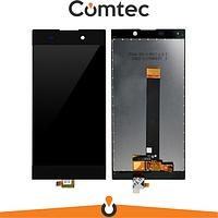 Дисплей для Sony H4311 Xperia L2 с тачскрином (Модуль) черный, оригинал