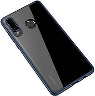Чехол-накладка Ipaky Bright Series/TPU frame With Clear PC Case Huawei P30 Pro Blue/Clear