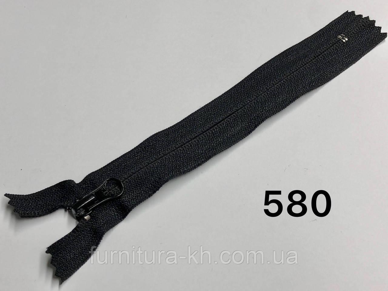 Спираль тип 5  «Обратная» карманная.Длинна 25 см -Цвет 580
