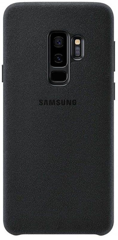 Чехол-накладка Samsung Alcantara Cover Galaxy S9 Plus (EF-XG965) Black
