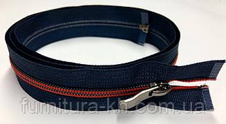 Сильвер тип 5.Темно-синий + красный(796+519).Длинна 70 см