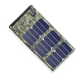 Сонячна панель вологозахищене зарядний пристрій Boguang H170 5V/20W на 2 USB виходу (acf_00390)