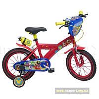 Велосипед Disney мышь маус 14 красная/ ??