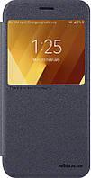 Чехол-книжка Nillkin Sparkle case Samsung Galaxy A5 A520F 2017 Black