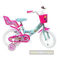 Велосипед Disney Lol Surprise 14 зелено-fuksjowy