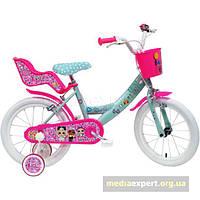 Велосипед Disney Lol сюрприз 16 зелено-fuksjowy