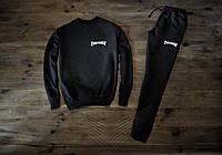 Мужской спортивный костюм Thrasher черный
