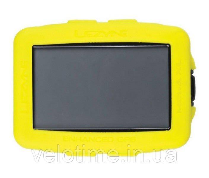 GPS Чехол для компьютера Lezyne MEGA XL GPS COVER  (желтый)