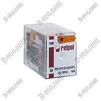 Реле Relpol R2N-2012-23-5230-WTL, 230VAC, 12А/250VAC 12А/30VDC