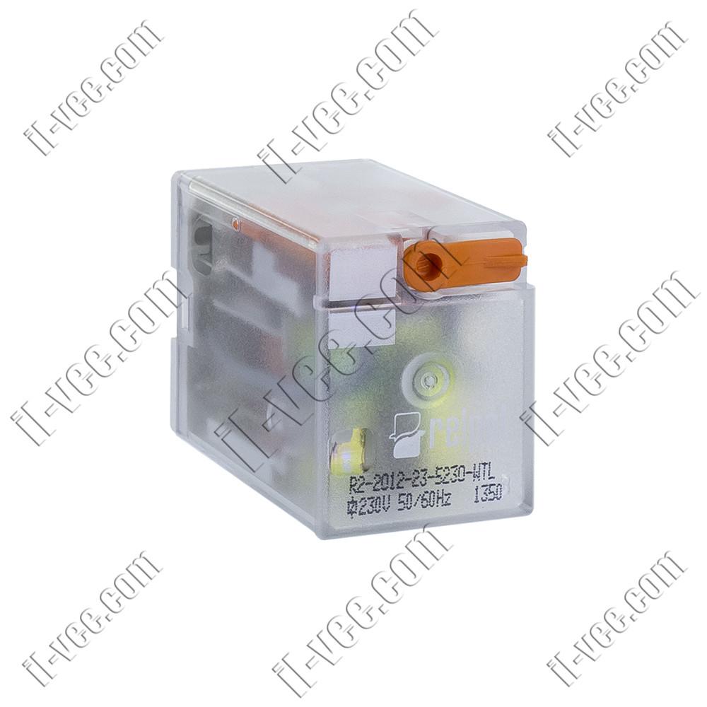 Реле Relpol R2-2012-23-5230-WTL, 230VAC, 12А/250VAC 12А/30VDC