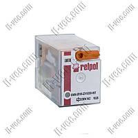 Реле Relpol R4N-2014-23-5230-WT, 230VAC, 12А/250VAC 12А/30VDC