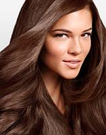 Волосы на заколках 100 г 50 см, цвет каштановый (№ 4)