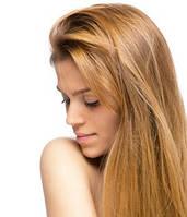 Волосы на заколках 100 г 50 см, цвет тёмный блонд (№ 27)