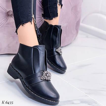 Модные черные ботинки, фото 2