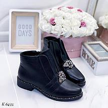 Модные черные ботинки, фото 3