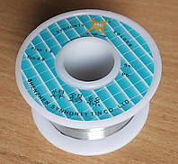 Припой с канифолью D 0.8 мм 50 гр на пластмассовой катушке (hub_IWpu95277)