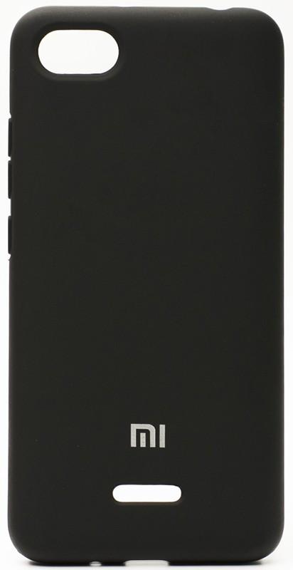 Чехол-накладка TOTO Silicone Case Xiaomi Redmi 6A Black