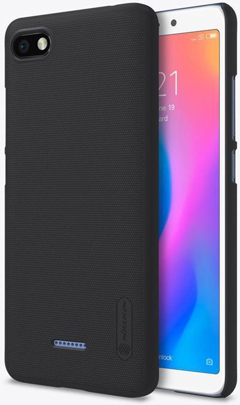 Чехол-накладка Nillkin Super Frosted Shield Xiaomi Redmi 6A Black