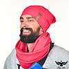 Набор: шапка + шарф-снуд. unisex