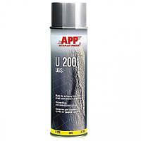 Средство для защиты кузова APP U-200 Baranek в аэрозоле 0,5л серый