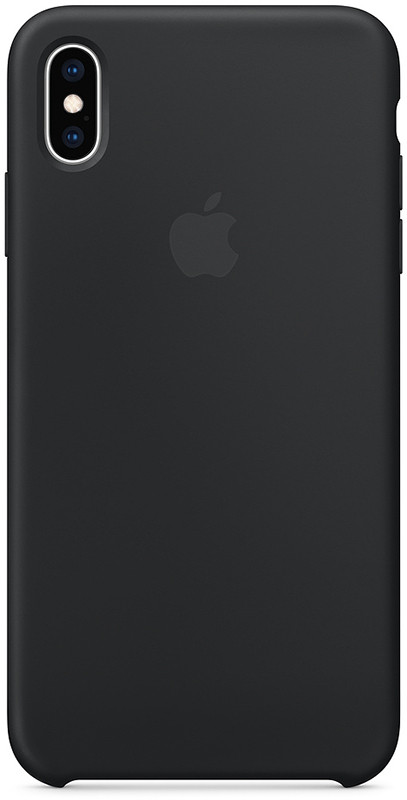 Чехол-накладка TOTO Silicone Case Apple iPhone X/XS Black