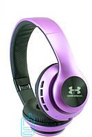 Накладные беспроводные Bluetooth наушники UA-67 Фиолетовые (220064)
