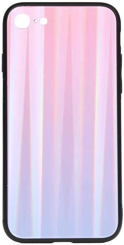 Чехол-накладка TOTO Aurora Print Glass Case Apple iPhone XR Lilac