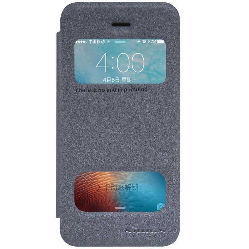 Чехол-книжка Nillkin Sparkle case iPhone 5/5s/SE Black