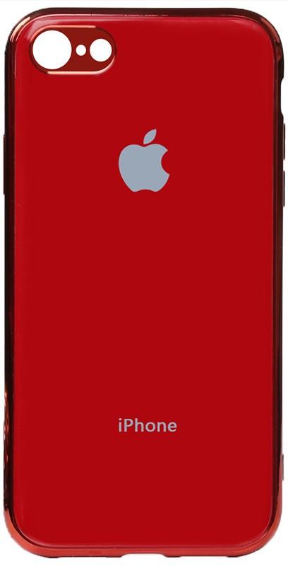 Чехол-накладка TOTO Electroplate TPU Case Apple iPhone 7/8 Red
