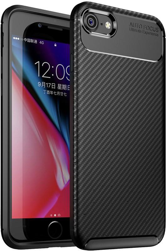 Чехол-накладка TOTO TPU Carbon Fiber 1,5mm Case Apple iPhone 7/8 Black