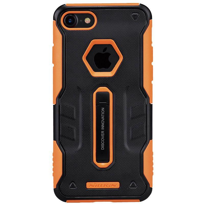 Чехол-накладка Nillkin Defender IV case with Holder iPhone 7 Black/Orange