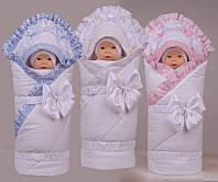 Демисезонный утепленный конверт для новорожденных ДоРечи Ренессанс