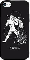 Чехол-накладка TOTO Full PC Print Case Apple iPhone SE/5s/5 #164_Aquarius Black