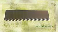 Нож режущий 100х27х2,0 мм для производства гофротары и бумажной упаковки с двухсторонней заточкой