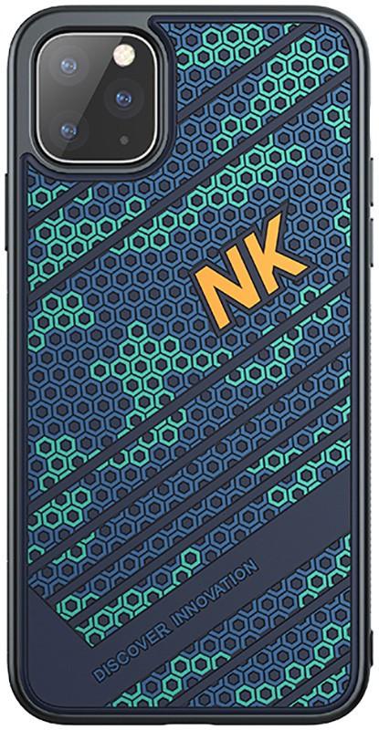 Чехол-накладка Nillkin Striker Case Apple iPhone 11 Pro Max Blue/Green