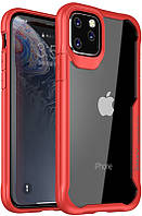 Чехол-накладка Ipaky Survival TPU Frame Injected Anti-Scratch PC Case Apple iPhone 11 Pro Red