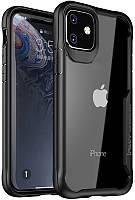 Чехол-накладка Ipaky Survival TPU Frame Injected Anti-Scratch PC Case Apple iPhone 11 Black