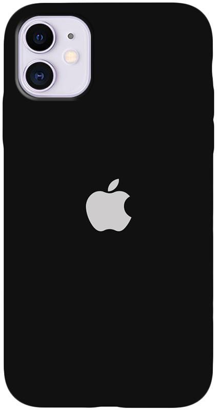 Чехол-накладка TOTO Silicone Full Protection Case Apple iPhone 11 Black