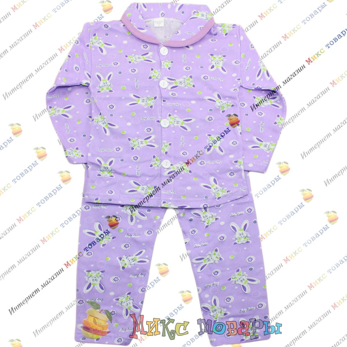 Пижамы Байка для девочек от 3 до 6 лет (3694-2)