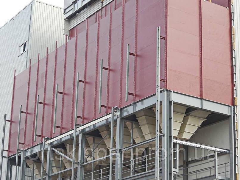Прямокутні силоси для зберігання зерна TSC