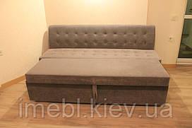 Прямолінійний розкладний кухонний диван (Анти кіготь)