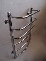 Полотенцесушитель водяной для ванной комнаты  Каскад 500*700мм/6полок нержавеющая сталь